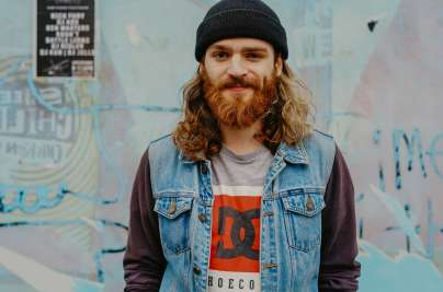 man with a ginger beard